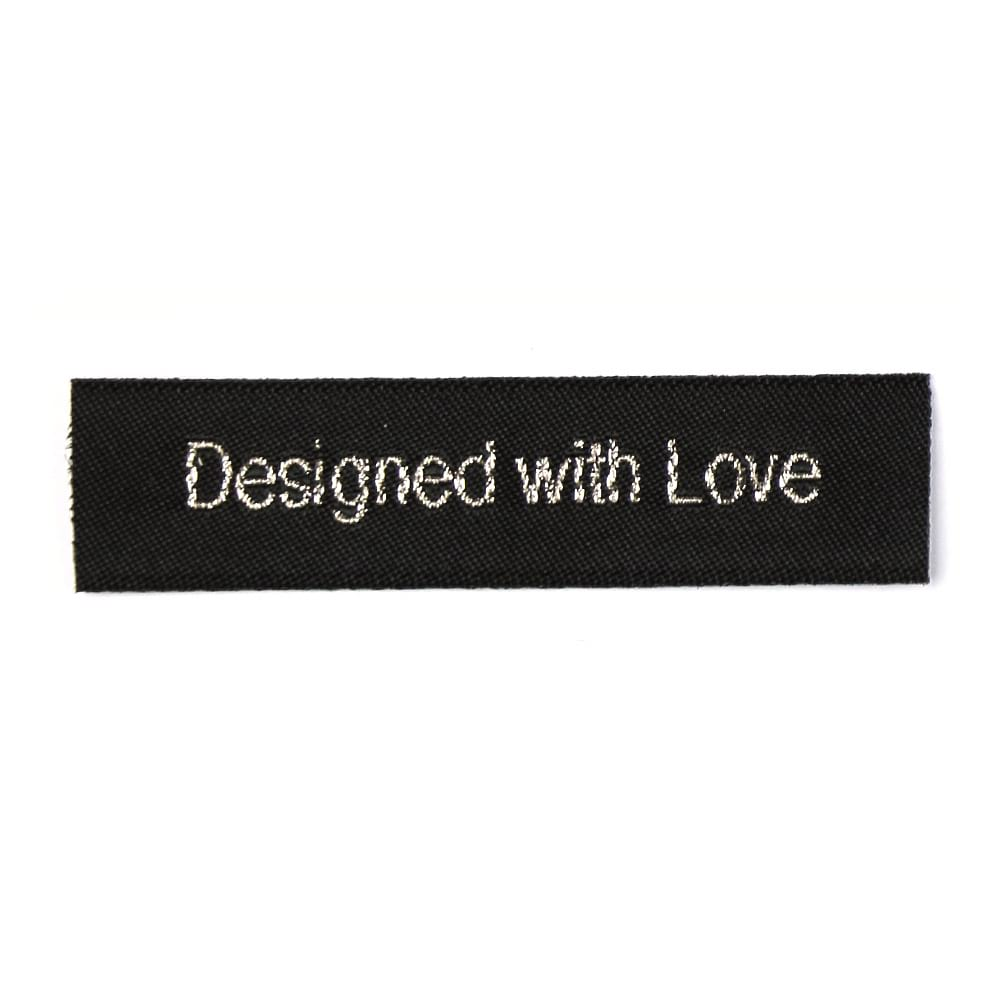 Woven Labels - Designed with Love