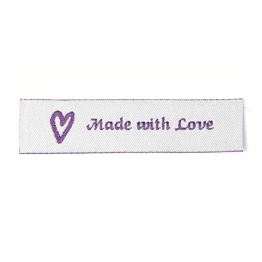 Woven Labels - Made with Love