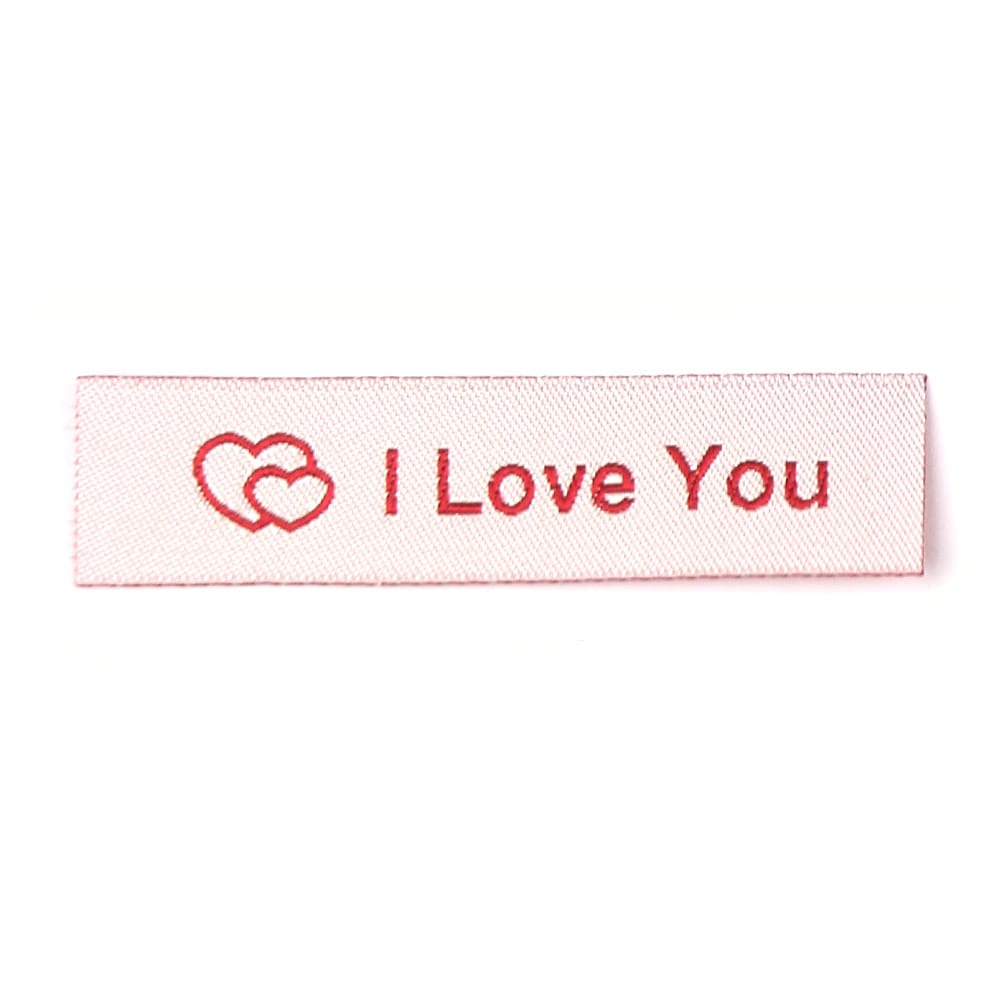 Woven Labels - I Love You